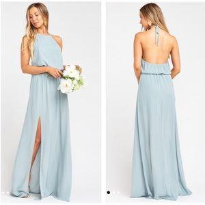 Show Me Your Mumu Heather Halter Maxi Dress
